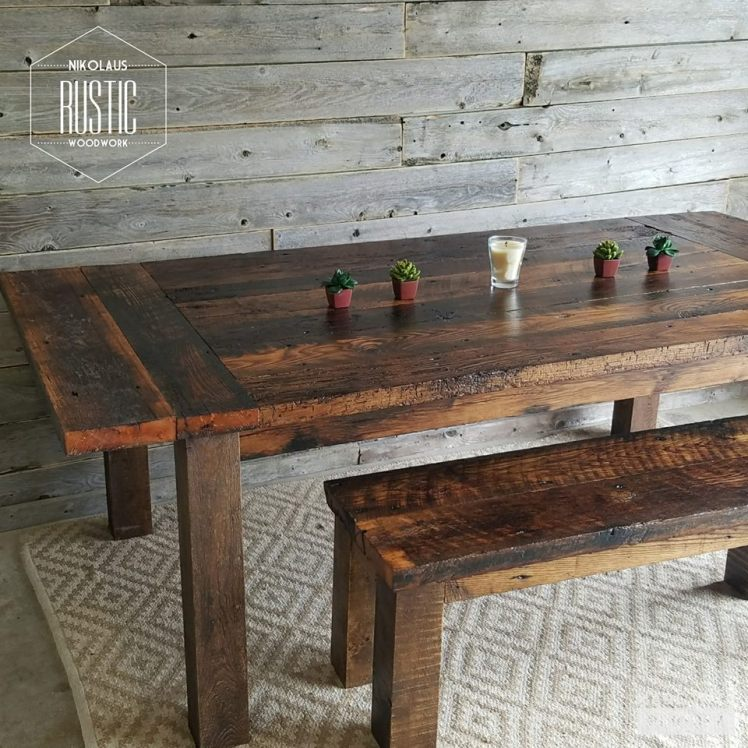 rustic table 4